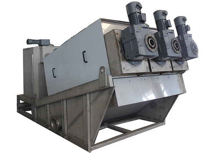 Dewatering Screw Press Machine For Slurry Treatment In Livestock Breeding DS 90 -180 Kg/H